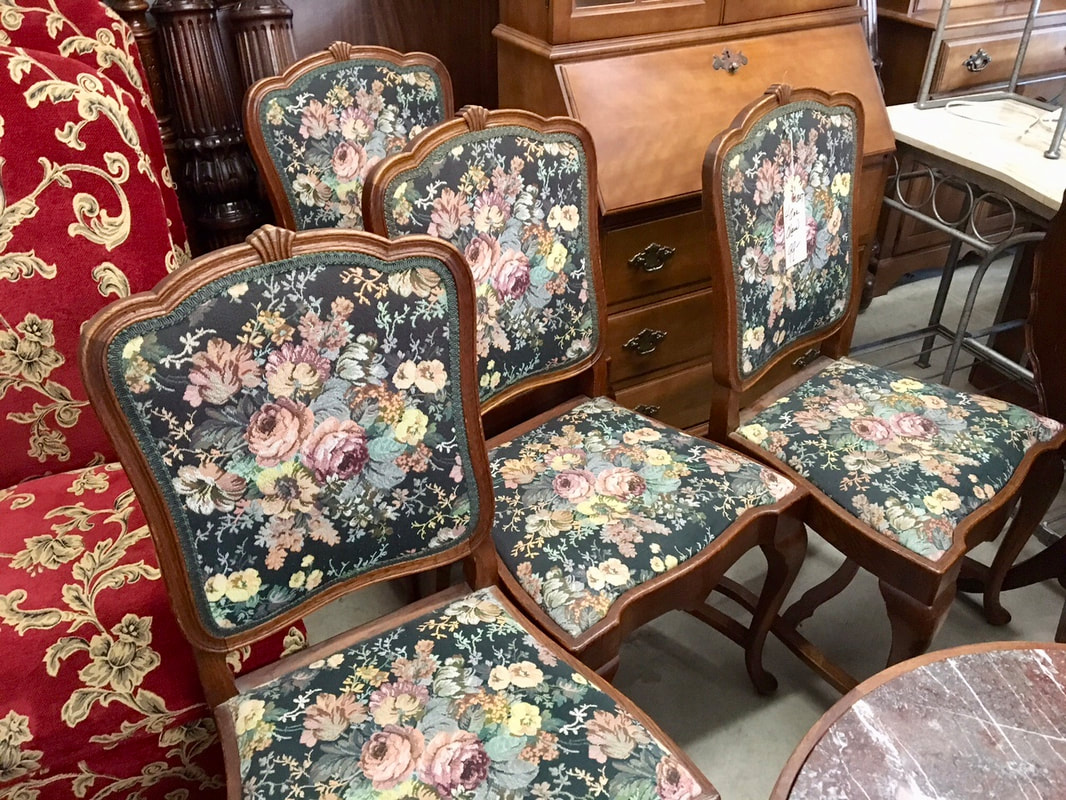 Canterbury used furniture antiques dining room for Reconditioned furniture